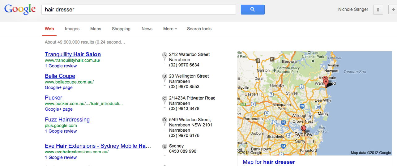 Have you got a Google Business Places listing?